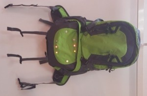 Turning signal LED light backpack right side 500 right