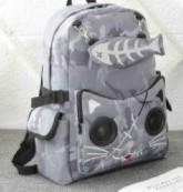Bluetooth speaker backpack BSBK8012-grey modified