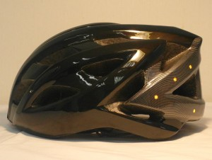 LED light turning signal bike helmet left