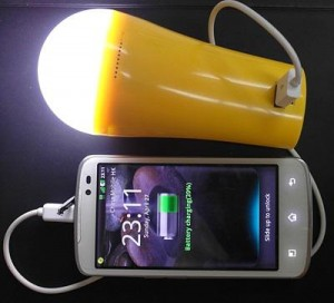 LED torch power bank